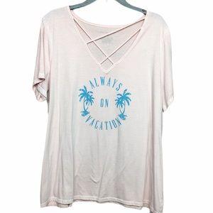 Lane Bryant Vacation Tshirt